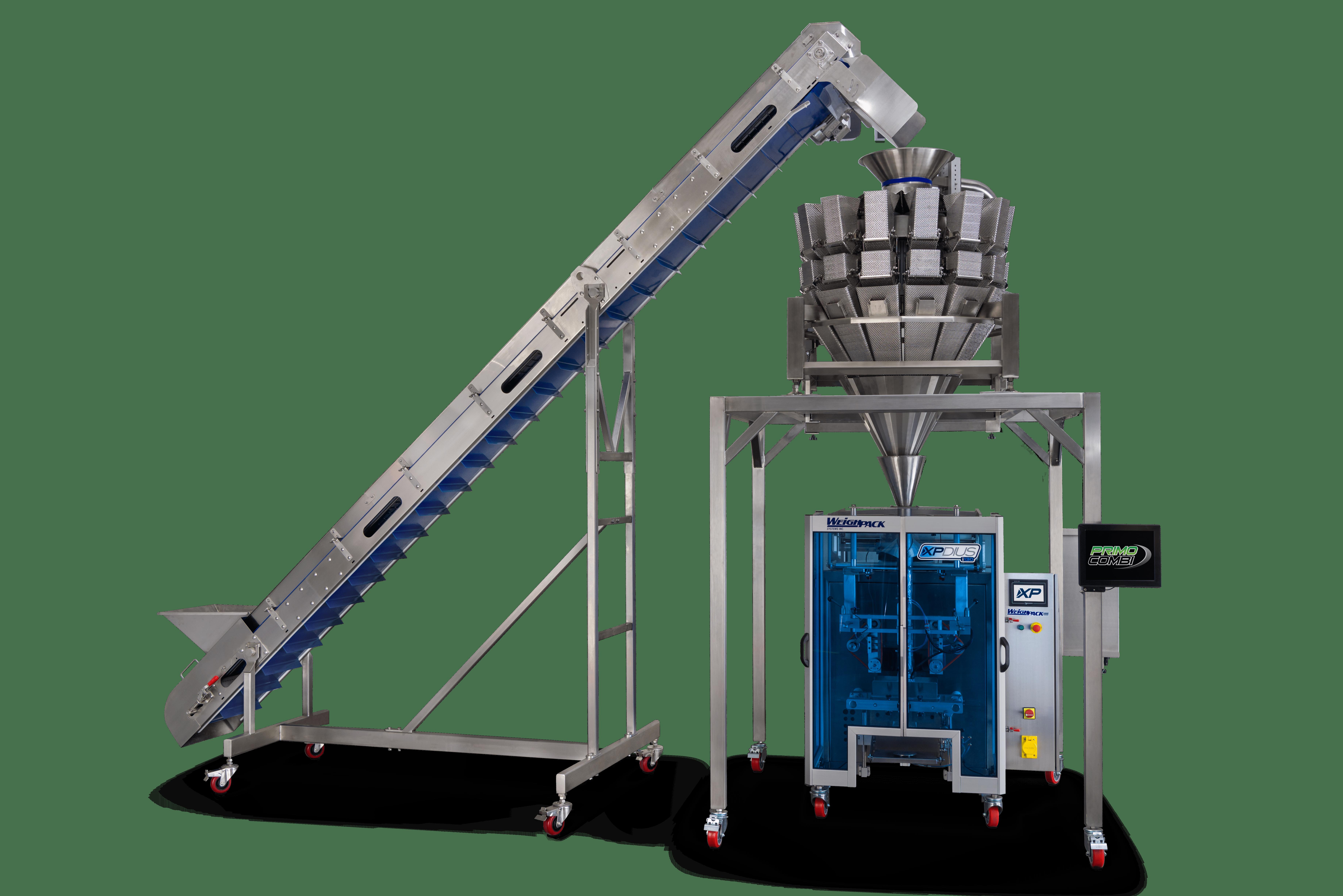 XPdius vertical bagging systems Paxiom FFS